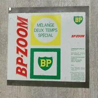 Plaque Tôle  BP étude pour la conception des bidons d'huile BP ZOOM prototype.