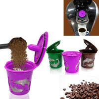 New 1* Refillable Reusable K-Cup Coffee Filter Pod For Keurig 2.0 /1.0/Mini Plus