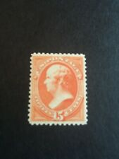 US STAMP SCOTT 189 ISSUED 1879 MNH OG RED ORANGE 15 cent