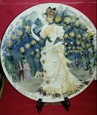 Les Femmes Du Siecle - 1875 Collector Plate~LOW PRODUCTION NUMBER 255~EXCELLENT!