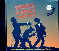 K-TEL's ORIGINAL CLASSIC SCREECHES, CLANKS & HOWLS: HALLOWEEN MUSIC & SOUNDS CD!