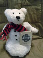 "Boyds ASTRID  ~ 10"" Retried white chenille Snowbear"