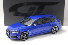 1:18 GT Spirit Audi RS6 Avant Performance Nogaro blue NEW bei PREMIUM-MODELCARS