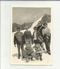 91618 FOTOGRAFIA FOTO ORIGINALE AL LIVRIO STELVIO 1960