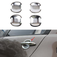 Car Bezel For Kia Sportage 2005-2010 Chrome Door Handle Catch Cover Trim Molding