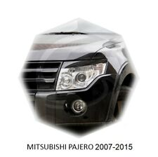 Mitsubishi Pajero 4 Eyelids Eyebrows 2007-2016 Rare Item 2pcs Set