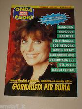 ONDA TIVU RADIO TASCABILE=SIMONA MARCHINI RADIODUE=ANNI '90=