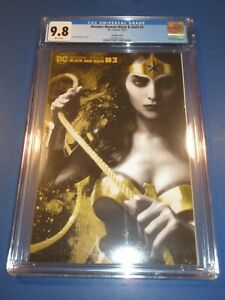 Wonder Woman Black and Gold #3 Middleton Variant CGC 9.8 NM/M Gorgeous Gem Wow