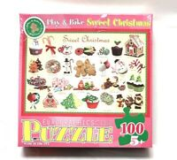 100 Piece Play and Bake Sweet Christmas Puzzle