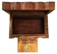 New Age Imports Tree of Life Wooden Box, 4 x 6-Inches, New, Free Ship