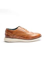 Men/'s Oswin Hyde OSCAR Smart Leather Buckle Monk Strap Brown Tweed Shoes NEW