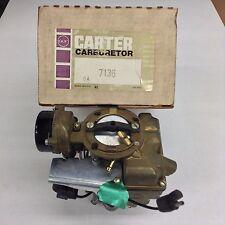 NOS CARTER YF CARBURETOR 7136S 1970-1974 FORD TRUCK 240 ENGINE