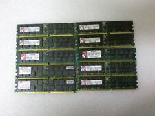 Lot Qty (10) 2GB Kingston Memory RAM 184p PC2100 DDR266 ECC Reg KTC-ML370G3/4G