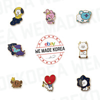 BT21 Character Universtar Artwork Metal Badge Official K-POP Authentic Goods