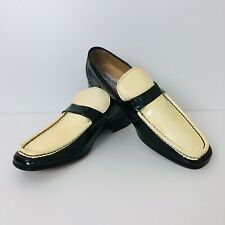 Men's Dolce & Gabbana Patent Leather Loafers Shoes EUR 44 UK 10 US 11