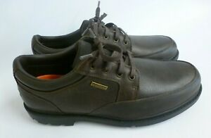 Men's - Rockport - Brown Leather Shoes - UK Size 8 Wide Fit