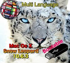 Mac Os X Snow Leopard 10.6.3 - Bootable USB Recovery-Upgrade-Fresh Installation