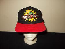 VTG-1990s Youth Size M&M's Minis Mars Candy Chocolate snapback hat sku22