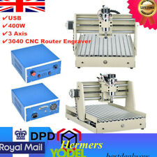 USB 0.4KW 3 Axis 3040 CNC Router Engraver Engraving Milling Machine Woodworking