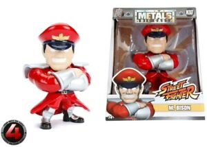 """Street Fighter - M Bison 4"""" Metals-JAD98063"""