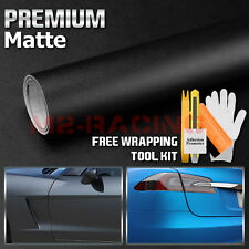"*36""x60"" MATTE FLAT BLACK TEXTURE Vinyl Wrap Decal Sticker Decal Pro Grade Sheet"