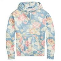 Polo Ralph Lauren Floral Print Spa Terry Hoodie Sweatshirt Sweater NWT Men's S