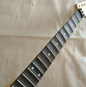 22 Fret Full scalloped Maple Rosewood Fretboard Electric Guitar Neck Locking nut