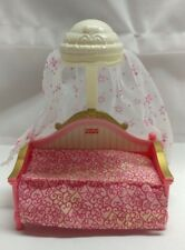 fisher price fp loving family dollhouse canopy day bed