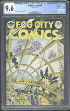 Fog City 3 CGC 9.6 WP Rand Holmes Underground Comix Single Highest Graded