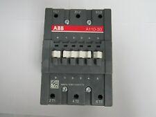 ABB Contactor A110-30 AC Non-Reversing IEC Contactor