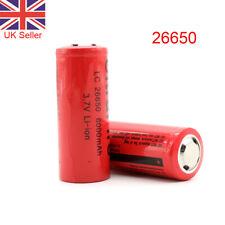 Batería 1/2 un. 26650 3.7V 6000mAh Li-ion Batería Recargable Lc células de litio