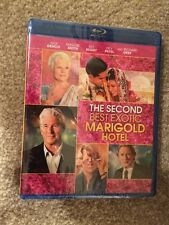 The Second Best Exotic Marigold Hotel ( Bluray + Digtal HD ) Brand New