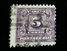 1930 Canada 5c Postage Due Stamp J9!