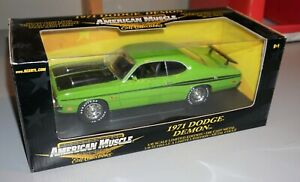 1971 Dodge Demon American Muscle 1/18 Diecast New In Box.