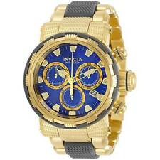 Invicta Men's Watch Specialty Chronograph Blue MOP Dial Two Tone Bracelet 31184