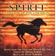 SPIRIT: STALLION OF THE CIMARRON CD - SOUNDTRACK (2002) - NEW UNOPENED