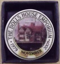 Dolls House Emporium 30th ANNIVERSARIO (1979-2009) 1/12th PIASTRA RIF. 5602 NOVEMBRE