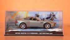 ASTON MARTIN V12 VANQUISH - DIE ANOTHER DAY 1:43 James Bond - Eaglemoss NEW !!!