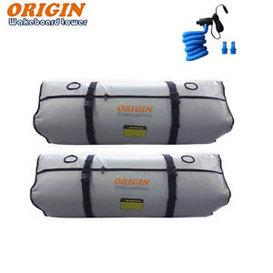 Origin Wakeboard Ballast bag Fat Sac 2x 350 lbs plus pump