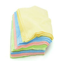 10 x Microfiber Micro Fibre Cleaner Camera Lens Glasses Cleaning Cloths