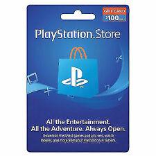 Sony PlayStation PSN100 $100 Gaming Gift Card