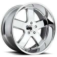 "Staggered US Mags U116 Hustler 20x8,20x9.5 5x5"" +1mm Chrome Wheels Rims"