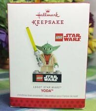HALLMARK Star Wars Lego Yoda ornament 2013