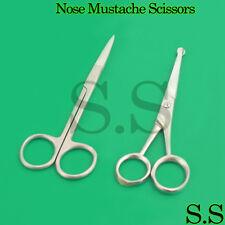 NOSE SCISSORS MOUSTACHE Mustache Scissors Hair Trimming Baby Grooming Scissor