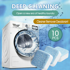 10PCS Washing Machine Effervescent Tub Bomb Cleaner Remover Deodorant ozstock