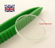 FLAT MINERAL GLASS CRYSTAL For Seiko 4R15-00D0 SRP043 #503a