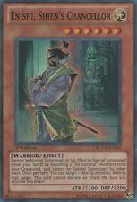 YuGiOh Enishi, Shien's Chancellor - LCGX-EN241 - Super Rare - Unlimited Edition