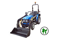 Traktor SOLIS 20 Kleintraktor mit Allrad Frontlader 1,20m und fertigem KFZ Brief
