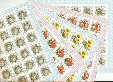 USSR 1981..n° 4802-6..YT 90€..MNH FLOWERS OF THE CARPATHIAN MOUNTAINS (5 SHEETS)
