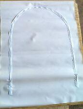 "Zipper Access Door for Shrink Wrap 36"" X 48"" White"